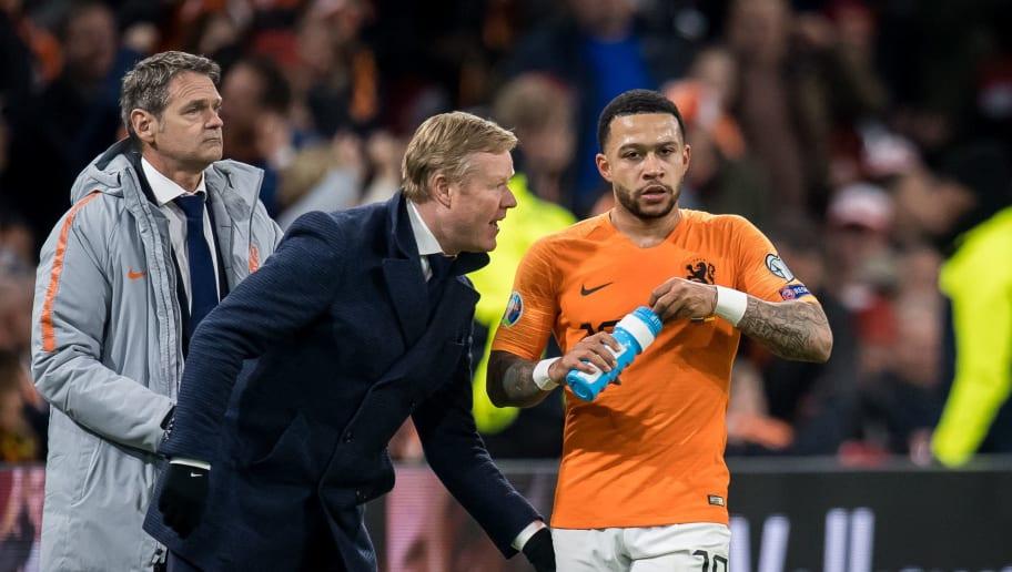 """UEFA EURO 2020 qualifier group C""""The Netherlands v Germany"""""""