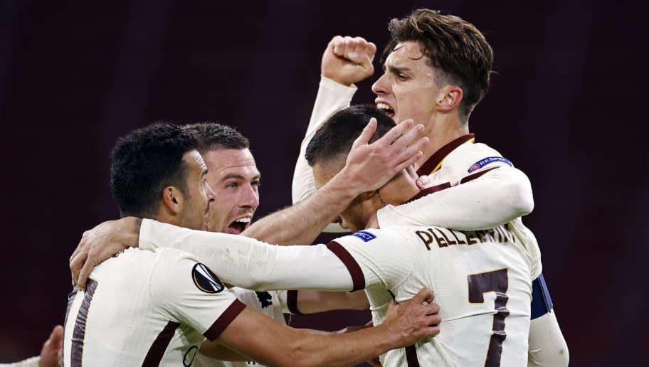 """UEFA Europa League""""Ajax Amsterdam v AS Roma"""""""