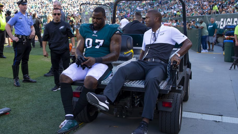 Eagles DT Malik Jackson Reportedly Expected to Miss Entire Season With Foot Injury