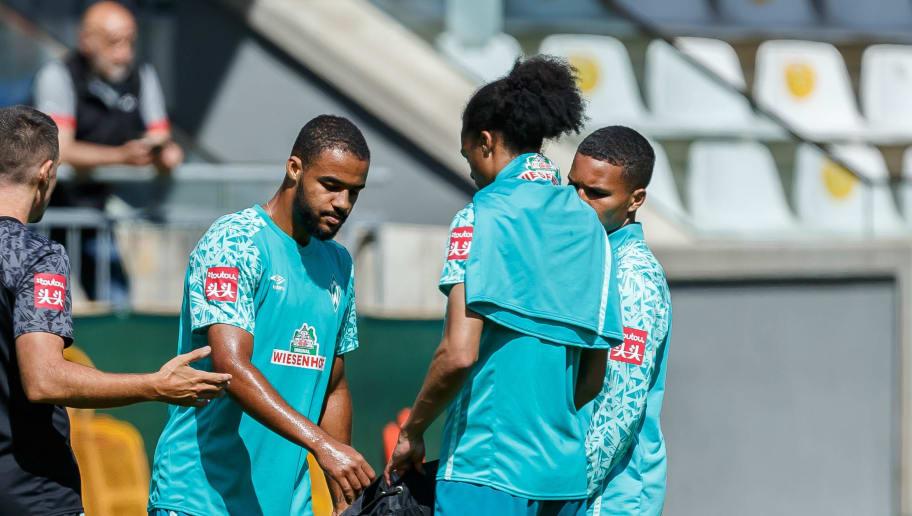 sollen an die erste Mannschaft herangeführt werden - Jean Manuel Mbom (li.) und Felix Agu (re.)
