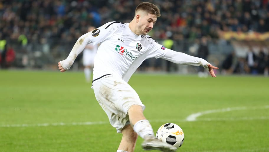 Wolfsberger AC v Borussia Moenchengladbach: Group J - UEFA Europa League