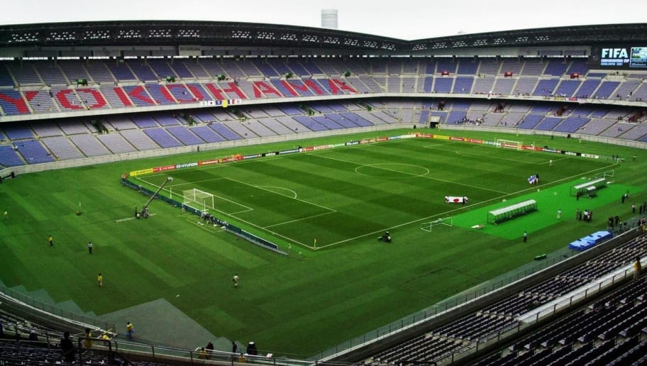 YOKOHAMA, JAPAN:  A general view of Yokohama International Stadium, 10 June 2001.  Yokohama will host the final match for the 2002 FIFA World Cup championships next year.     AFP PHOTO/Kazuhiro Nogi (Photo credit should read KAZUHIRO NOGI/AFP/Getty Images)