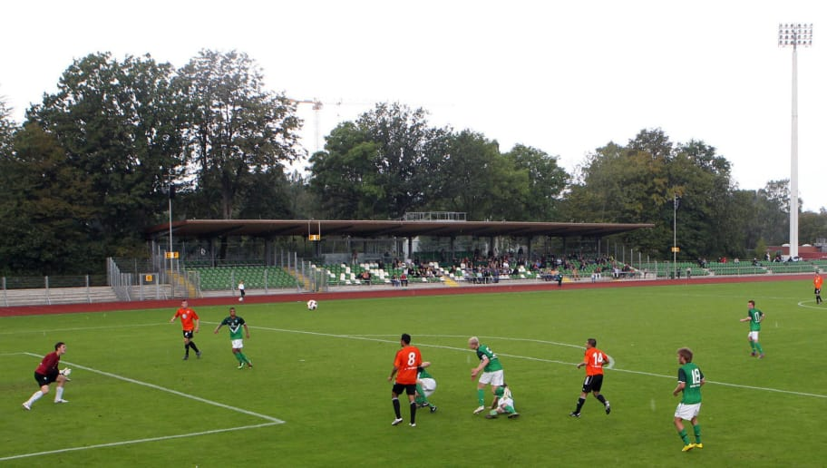 BREMEN, GERMANY - SEPTEMBER 12: A general view during the A-Juniors match between Werder Bremen and VfL Wolfsburg at Platz 11-Stadion on September 12, 2010 in Bremen, Germany.  (Photo by Martin Rospek/Bongarts/Getty Images)
