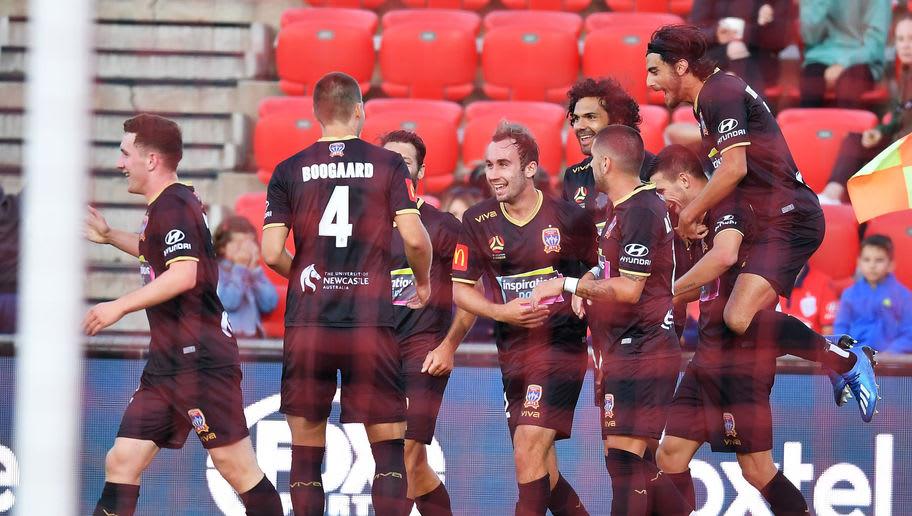 A-League Rd 23 - Adelaide v Newcastle