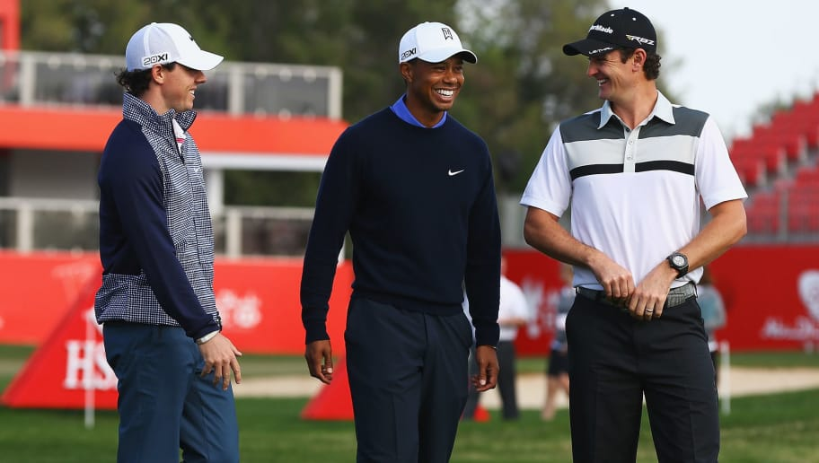 Rory McIlroy,Tiger Woods,Justin Rose