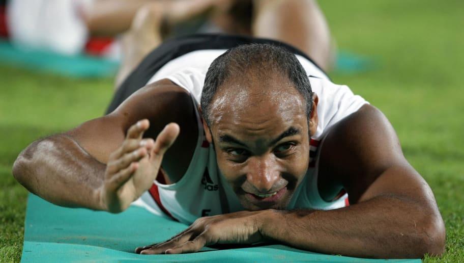 AC Milan's Brazilian player Emerson trai