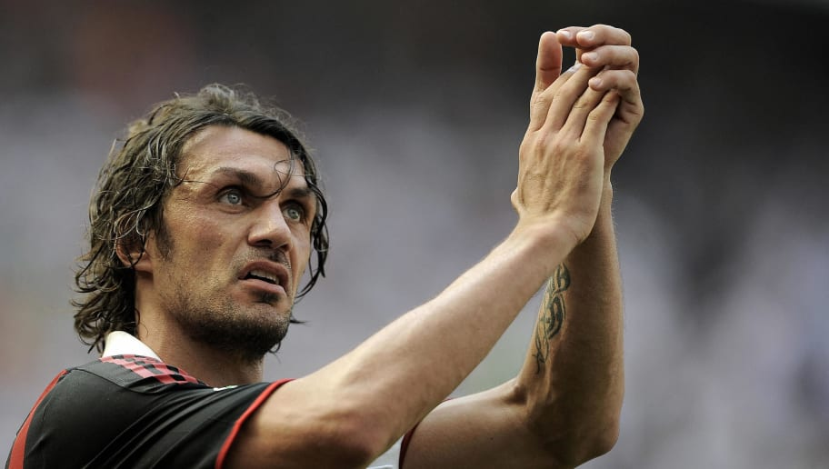 AC Milan's defender and captain Paolo Ma