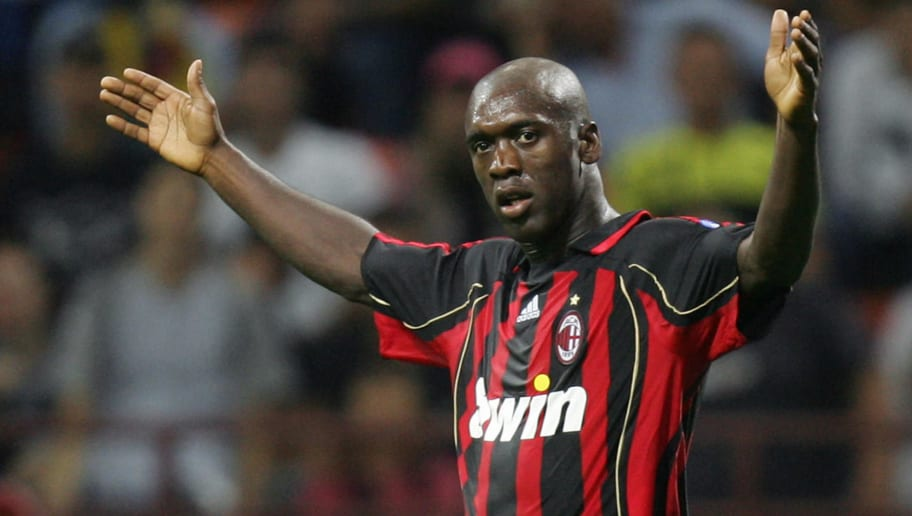 AC Milan's midfielder Clarence Seedorf o