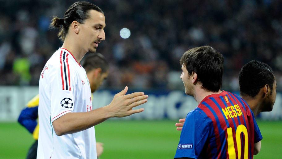 Zlatan Ibrahimovic,Lionel Messi