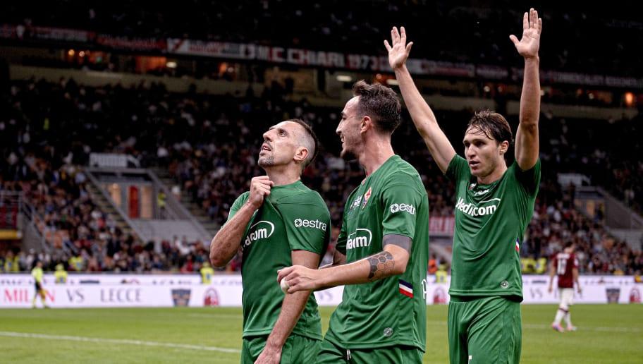 Franck Ribery,Gaetano Castrovilli,Milan Badelj