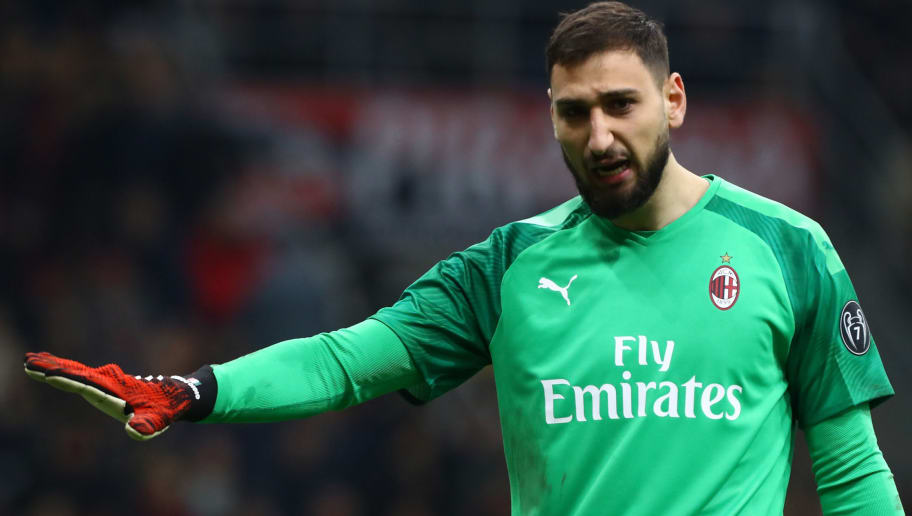 Gianluigi Donnarumma Expected To Reject New Milan Contract With Premier League Clubs Psg Linked 90min