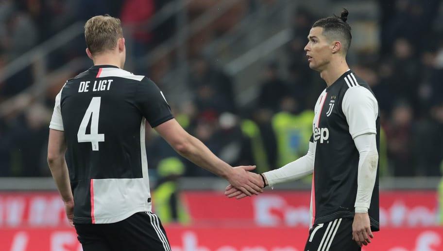 Cristiano Ronaldo,Matthijs de Ligt