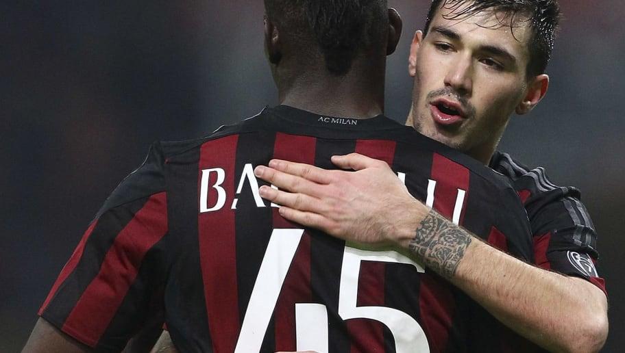 Mario Balotelli,Alessio Romagnoli