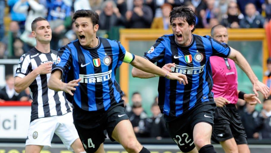 Diego Alberto Milito,Javier Zanetti