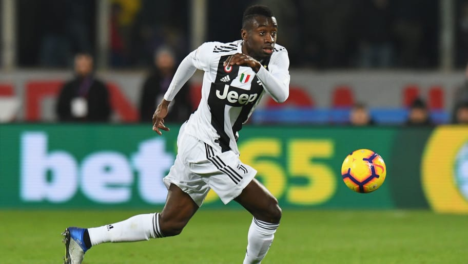FLORENCE, ITALY - DECEMBER 01:  Blaise Matuidi of Juventus in action during the Serie A match between ACF Fiorentina and Juventus at Stadio Artemio Franchi on December 1, 2018 in Florence, Italy.  (Photo by Alessandro Sabattini/Getty Images)