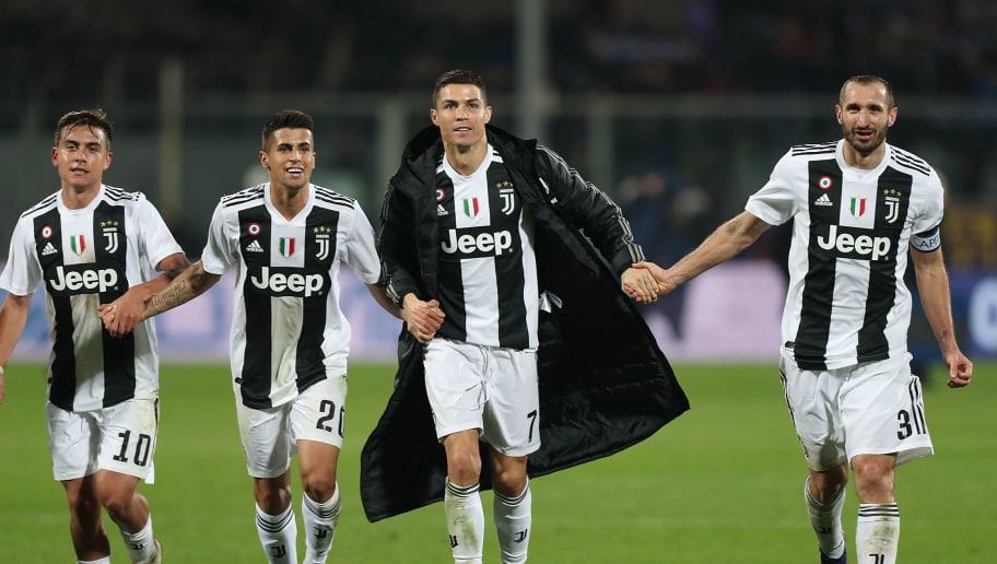 Paulo Dybala,Joao Cancelo,Cristiano Ronaldo,Giorgio Chiellini