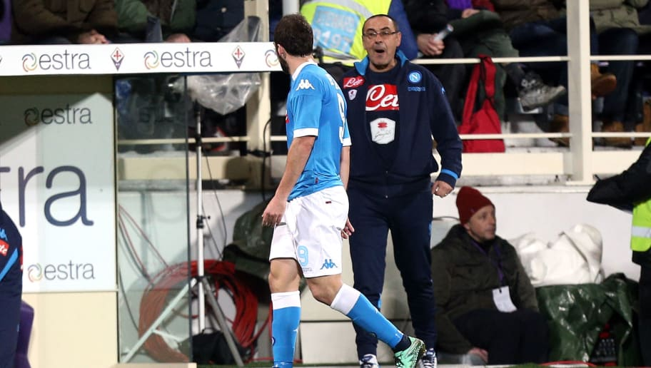 Gonzalo Higuain,Maurizio Sarri