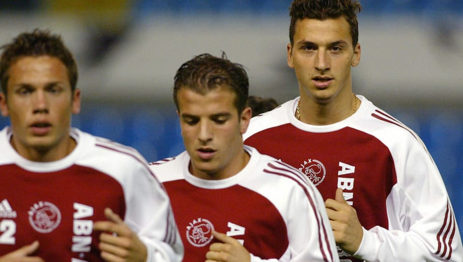 AFC Ajax's forward Swedish Zlatan Ibrahi