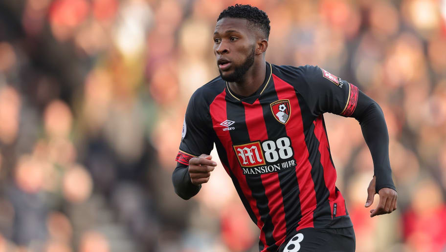 BOURNEMOUTH, ENGLAND - NOVEMBER 25: Jefferson Lerma of Bournemouth during the Premier League match between AFC Bournemouth and Arsenal FC at Vitality Stadium on November 25, 2018 in Bournemouth, United Kingdom. (Photo by James Williamson - AMA/Getty Images)
