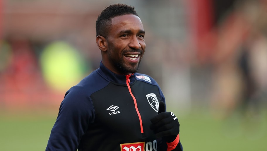 BOURNEMOUTH, ENGLAND - NOVEMBER 25: Jermain Defoe of Bournemouth during the Premier League match between AFC Bournemouth and Arsenal FC at Vitality Stadium on November 25, 2018 in Bournemouth, United Kingdom. (Photo by James Williamson - AMA/Getty Images)