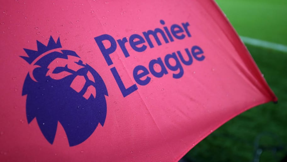 BOURNEMOUTH, ENGLAND - SEPTEMBER 15: The Premier League logo during the Premier League match between AFC Bournemouth and Brighton and Hove Albion at Vitality Stadium on September 15, 2017 in Bournemouth, England. (Photo by Catherine Ivill - AMA/Getty Images)