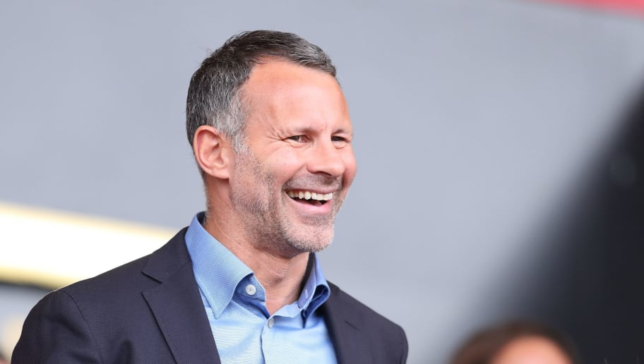 BOURNEMOUTH, ENGLAND - AUGUST 11: Wales manager \ head coach Ryan Giggs during the Premier League match between AFC Bournemouth and Cardiff City at Vitality Stadium on August 11, 2018 in Bournemouth, United Kingdom. (Photo by James Williamson - AMA/Getty Images)