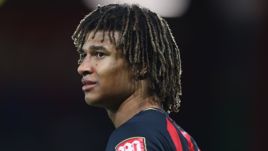 BOURNEMOUTH, ENGLAND - OCTOBER 01:  Nathan Ake of Bournemouth during the Premier League match between AFC Bournemouth and Crystal Palace at Vitality Stadium on October 1, 2018 in Bournemouth, United Kingdom.  (Photo by Michael Steele/Getty Images)
