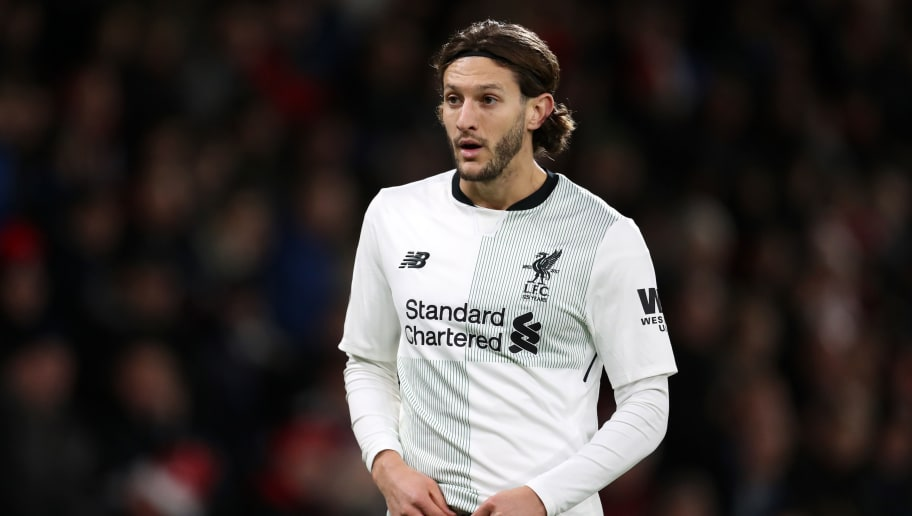 BOURNEMOUTH, ENGLAND - DECEMBER 17: Adam Lallana of Liverpool during the Premier League match between AFC Bournemouth and Liverpool at Vitality Stadium on December 17, 2017 in Bournemouth, England. (Photo by Catherine Ivill/Getty Images)