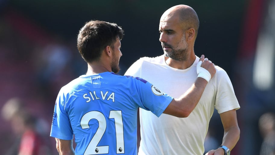 Pep Guardiola,David Silva