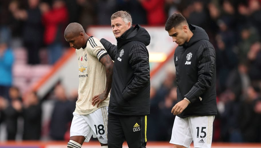 Ashley Young,Ole Gunnar Solskjaer
