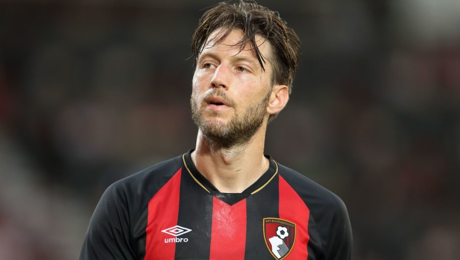 BOURNEMOUTH, ENGLAND - AUGUST 03: Harry Arter of Bournemouth during the Pre-Season Friendly match between AFC Bournemouth and Real Betis at Vitality Stadium on August 3, 2018 in Bournemouth, England. (Photo by James Williamson - AMA/Getty Images)