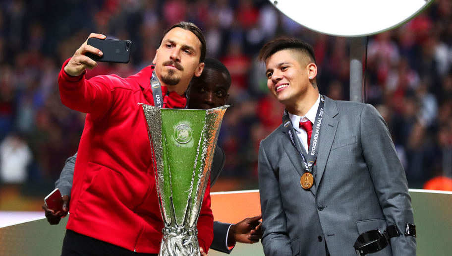 Zlatan Ibrahimovic,Marcus Rojo