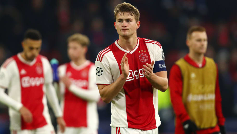 0fe7cf0d272 Barcelona Chief 'Knows What Will Happen' With Ajax Defender Matthijs de Ligt  This Summer