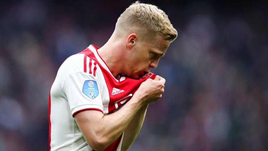 Erik ten Hag Confirms Real Madrid Target Donny van de Beek Will Stay at Ajax