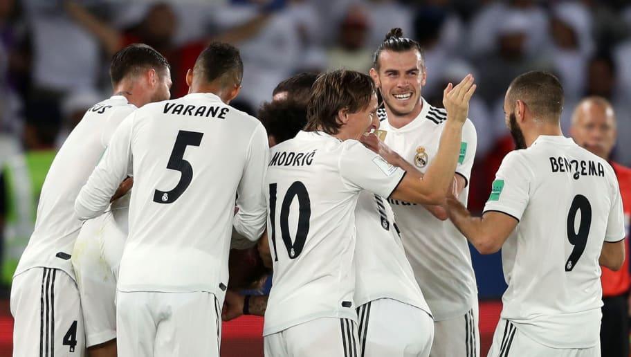 Vinicius Junior,Luka Modric,Gareth Bale,Karim Benzema,Raphael Verane