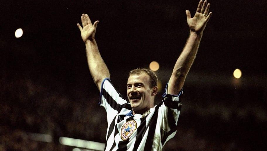 Alan Shearer of Newcastle