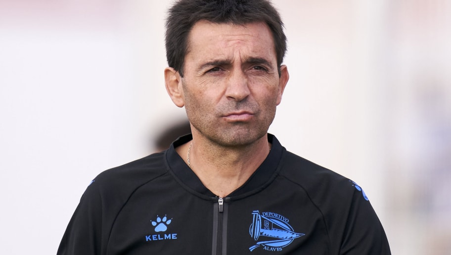 Asier Garitano, Manager of Deportivo Alaves