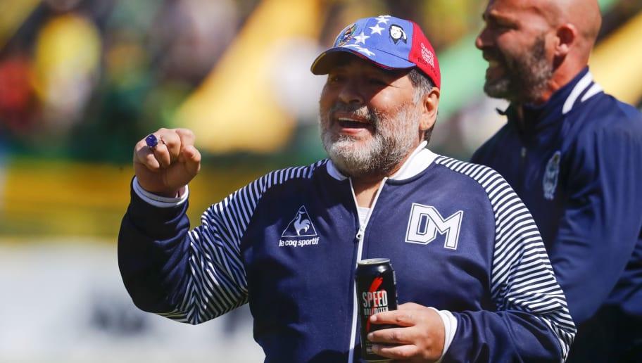 Diego Maradona tritt als Trainer bei Gimnasia LaPlata zurück