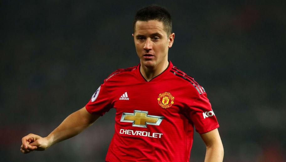 MANCHESTER, ENGLAND - DECEMBER 05: Ander Herrera of Manchester United during the Premier League match between Manchester United and Arsenal FC at Old Trafford on December 5, 2018 in Manchester, United Kingdom. (Photo by Robbie Jay Barratt - AMA/Getty Images)