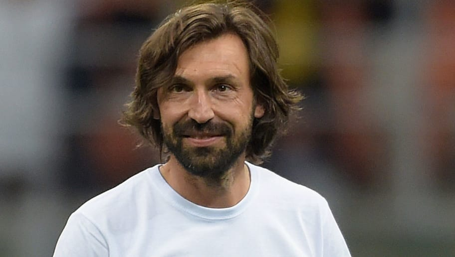 MILAN, ITALY - MAY 21:  Andrea Pirlo looks during Andrea Pirlo Farewell Match at Stadio Giuseppe Meazza on May 21, 2018 in Milan, Italy.  (Photo by Pier Marco Tacca/Getty Images)