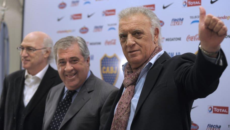 Argentina's Boca Juniors new coach Alfio
