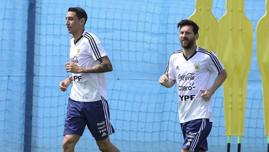 Angel Di Maria,Lionel Messi
