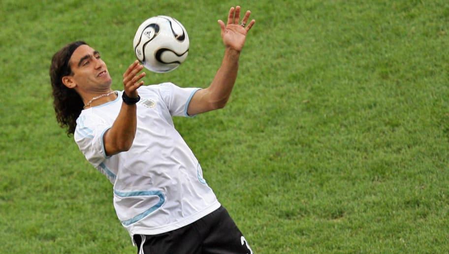 Argentinian defender Juan Pablo Sorin wa