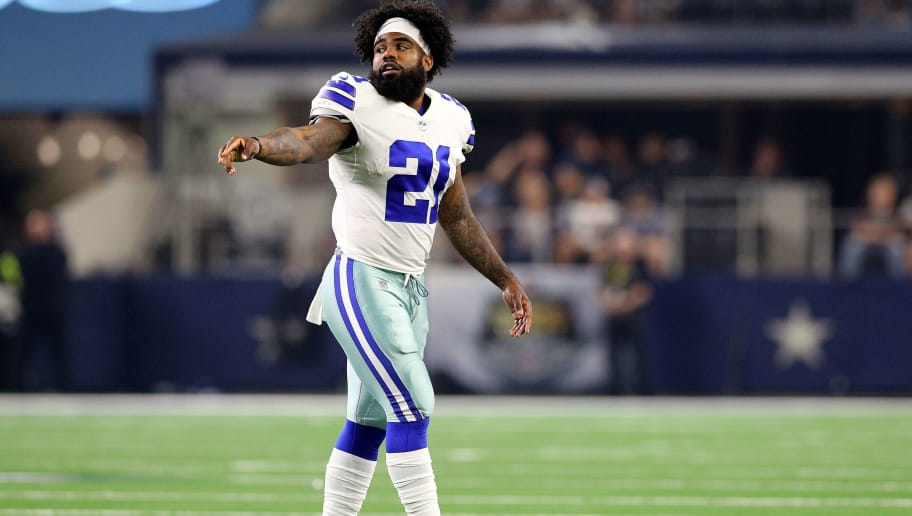 Cowboys Rb Depth Chart Proves They Re Going To Run Zeke Into The Ground