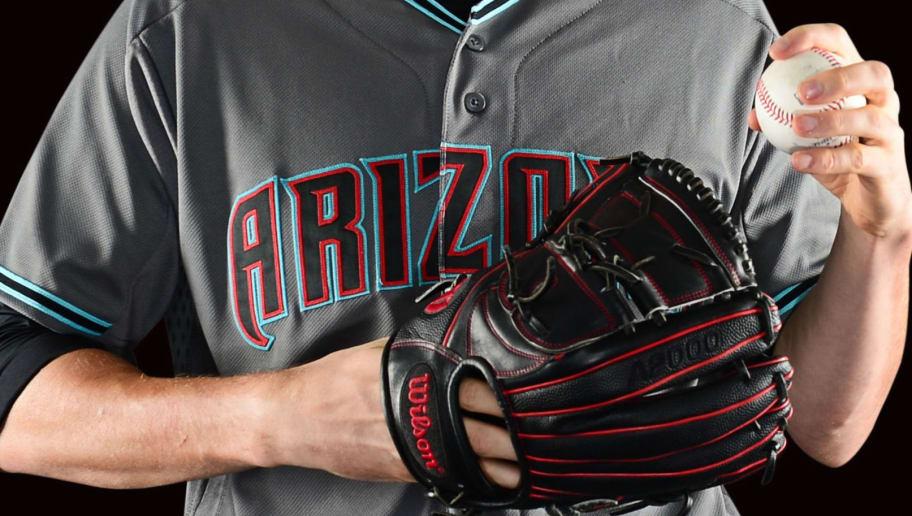 PHOENIX, AZ - SEPTEMBER 30: Detail of the Arizona Diamondbacks new uniform September 30, 2015 in Phoenix, Arizona. (Photo by Jennifer Stewart/Arizona Diamondbacks/Getty Images)