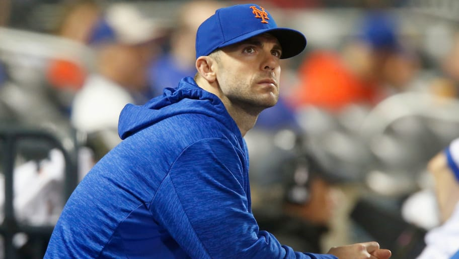NEW YORK, NY - MAY 19:  David Wright #5 of the New York Mets looks on against the Arizona Diamondbacks at Citi Field on May 19, 2018 in the Flushing neighborhood of the Queens borough of New York City. The Mets defeated the Diamondbacks 5-4.  (Photo by Jim McIsaac/Getty Images)