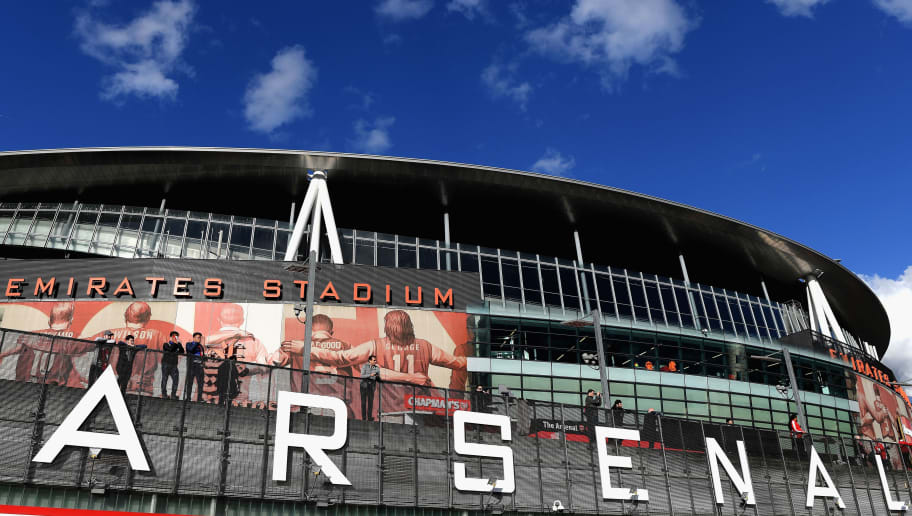 LONDON, ENGLAND - APRIL 26:  A general view prior to the UEFA Europa League Semi Final leg one match between Arsenal FC and Atletico Madrid at Emirates Stadium on April 26, 2018 in London, United Kingdom.  (Photo by Mike Hewitt/Getty Images)