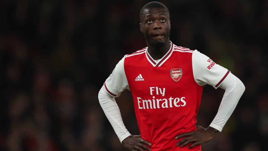 Nicolas Pépé Concedes He Has Been Below Par Since Joining Arsenal in Mega-Money Move