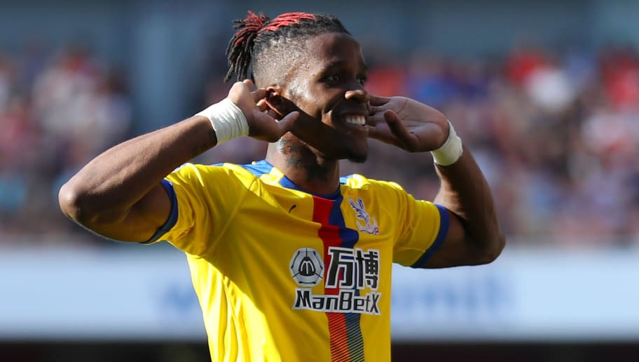 Wilfried Zaha tells Crystal Palace that he wants a transfer