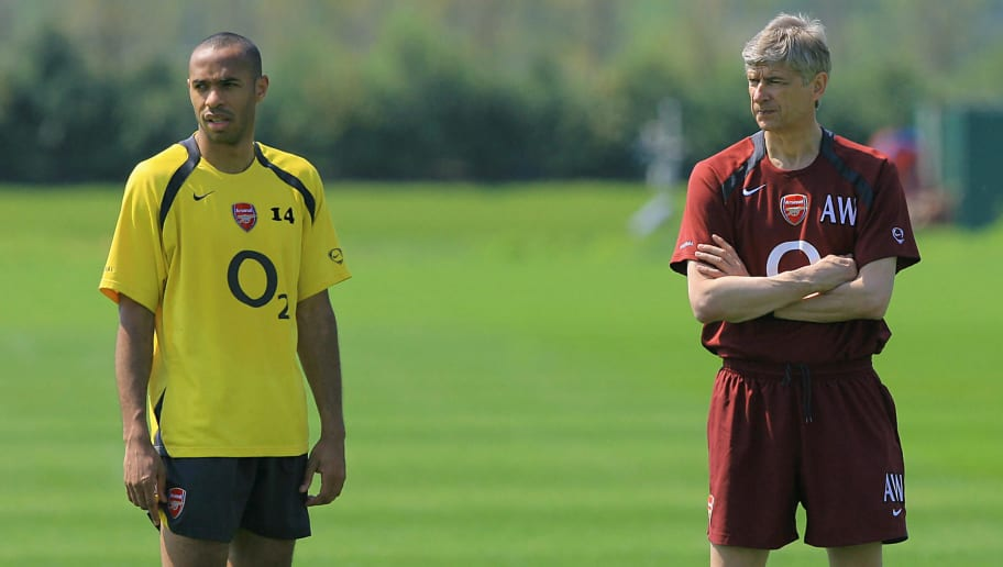 Thierry Henry Reveals Managerial Lessons Arsene Wenger Taught Him During Arsenal Playing Days